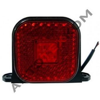 Фонарь габаритный 130.3731-02 (12/24В) красный LED