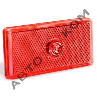 Фонарь габаритный 48-00 (12/24В)  LED красный (с проводом)