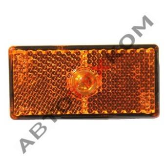 Фонарь габаритный 48-01 (желтый) с контактом LED