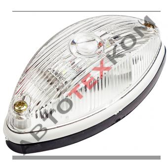 Фонарь габаритный передний ГФ-2 (12/24В) белый LED ан.001.3711-01