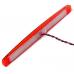 Фонарь контурный диодный 172-02 красный 12LED с прокладкой