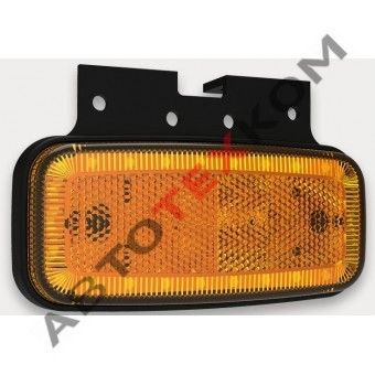Фонарь габаритный 156.3731-00-01 желтый 24 диода (с кронштейном)  ан. FT-075 Z+K LED