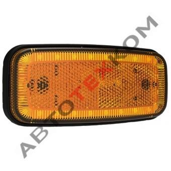 Фонарь габаритный 156.3731-00 желтый 24 диода  (ан. FT-075 Z LED)
