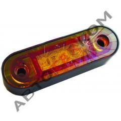 Огонь габаритный ОГ-44 (12/24В) желтый LED высокий