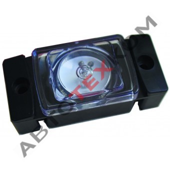 Огонь габаритный ОГ-45 (12/24В) белый LED кубик