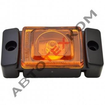 Огонь габаритный ОГ-45 (12/24В) желтый LED кубик