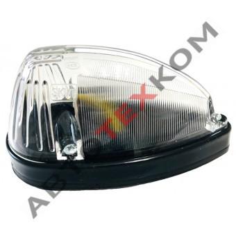 Знак опознавательный 631.3731-03 (24В) LED капля (белый)
