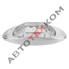 Фонарь габаритный S-015 (24В) 6LED белый