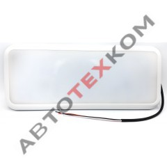 Плафон салона ТАС-П-01.3731-00Б (10/30В) корпус белый, 2 режима (335х140х15мм) LED