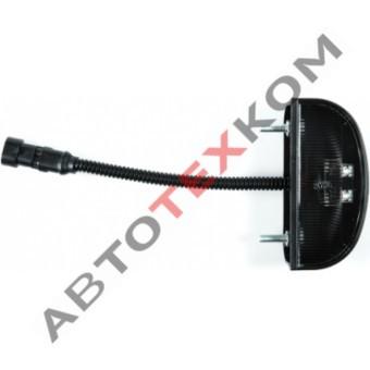 Фонарь освещения номерного знака ОНЗ 00-03 (12/24В) LED овальный разъем АМР 282080-1