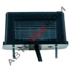 Подсветка номерного знака ПН1-0101 (12/24В) черная LED