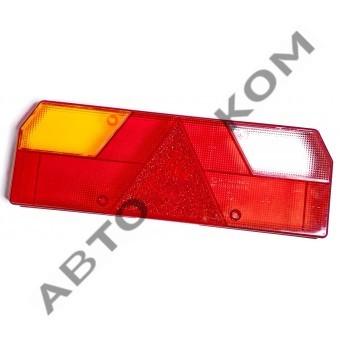 Рассеиватель фонаря задний 0023 ТОНАР левый (желтый поворотник)