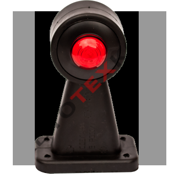 Огонь габаритный ОГ-33 (12/24В) LED выпуклый (4 отверстия) с.о.
