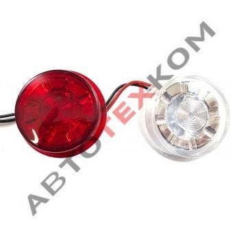 Светодиодный элемент ГФ3 LED1 (плоский) хрусталик (ан.003.3733-01-03) Н/О