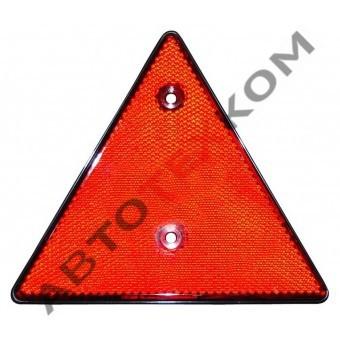 Световозвращатель треугольный ФП-401 с рамкой